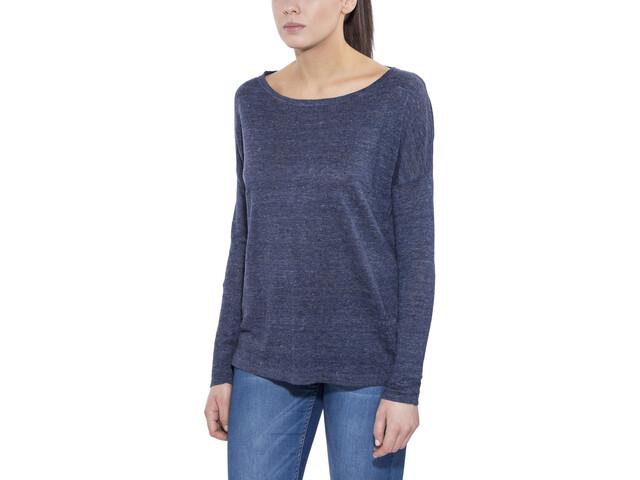 Patagonia Lightweight Linen Sweater Women Navy Blue